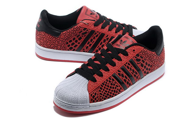 Adidas Superstar Mens & Womens (unisex) Red Black